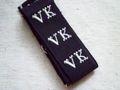 アンティーク*イニシャルテープ (VK)