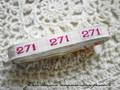 アンティーク*ナンバーテープ/271箱なし