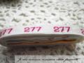 アンティーク*ナンバーテープ/277箱なし