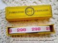 アンティーク*ナンバーテープ/298(1)
