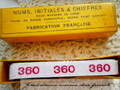 アンティーク*ナンバーテープ/360(1)