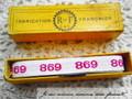 アンティーク*ナンバーテープ/698(1)