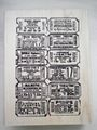 Tim Holtz  Stamp TICKET