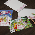華貴婦人のポストカード(2枚セット)