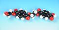 ふ)分子模型 ポリエチレンテレフタレート(PET)(36050)