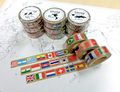 せ)世界の国旗マスキングテープ
