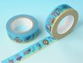 す)水中の小さな生き物マスキングテープ(30171)