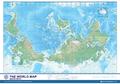 せ)世界逆さ地図(33132)
