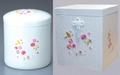 6寸桜白切と桜張箱