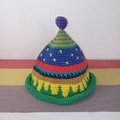 トンガリKids3~7歳サイズコットン糸の柄編み16-03
