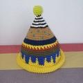 トンガリKids1~2歳サイズコットン糸の柄編み16-mini05