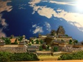 姫路城  お城 ジオラマ 完成品