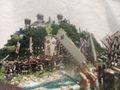 川中島合戦 旭山城・葛山城 お城 ジオラマ 完成品