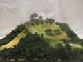 武田の城 木曾福島城推定復元 お城 ジオラマ 完成品
