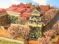 弘前城 お城 ジオラマ 完成品