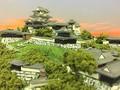 宇和島城 お城 ジオラマ 完成品