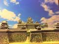 熊本城本丸 お城 ジオラマ 完成品