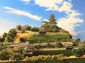 掛川城 お城 ジオラマ 完成品