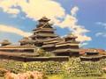 福岡城 お城 ジオラマ 完成品