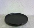 拭漆栃一尺丸皿盆
