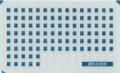 [KLM205DA] 521系 編成番号(運転台編成番号札)【多色刷りインレタ】