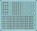 [KLP001CM] 汎用パーツ集<ドア関連③>(西日本編②…ドアボタン・スピーカー・221系ライト枠)【メタルインレット】