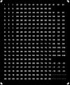 [KLM203C] 221系 編成番号(奈良-運転台窓部)【単色刷りインレタ】