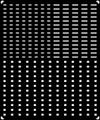 [KLX204A] 西日本-窓表記(ドア窓広告〔小〕/開閉窓表示〔大・小〕)【単色刷りインレタ】