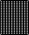 [KLX204B] 西日本-窓表記(ドア窓広告〔大〕)【単色刷りインレタ】