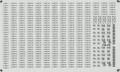 [KLM210AA] 227系 車番/表記(広島0番台3連)【単色刷りインレタ】