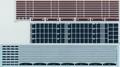 [KLL006A] 205系 京阪神緩行線(新塗装)【帯インレタ・行先デカール セット】