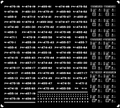 [KLM214CA] 475系 車番/表記(北陸色 〔旧塗装・北陸地域色〕)【単色刷りインレタ】