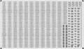 [KLM211A] 323系 車番/表記【単色刷りインレタ】
