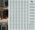 [KLM191B] 北大阪急行電鉄 9000形 車番(金属文字仕様)【メタリックインレタ】