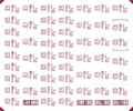 [KLM232BB] 381系 妻面表記(国鉄色-しなの・くろしお・やくも・福知山)【単色刷りインレタ】