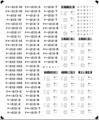 [KLM213AA] 213系 車番/表記(岡山 0番台・100番台)【単色刷りインレタ】