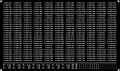 [KLM223BB] 201系 体質改善車 車番/表記(京阪神緩行線②)【単色刷りインレタ】