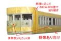[KM003BAS] 113系/115系 広島更新色(先頭車)【カット済マスキングテープ】