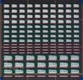 [KLX203DU] 四国-優先座席(ウラ貼り)【多色刷りインレタ】