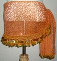 ヒップスカーフ(オレンジ×金コイン2種類)スパンコール刺繍 HPW-ST05
