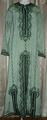 ガラベイヤ(スモークグリーン・ハンドメイド刺繍)GLB-H01