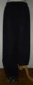ハーレムパンツ(ブラック×ゴールド裾) PW-03