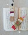 絹のしおり(手刺繍)