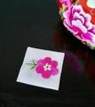 手刺繍パーツ(花)