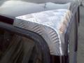 ルーフJA11Vアルミコーナーガード天井角フロント