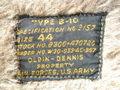 1940 年代 ARMY AIR FORCE TYPE B-10 フライトジャケット(スコードロンパッチ・ CONMAR ジッパー)