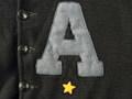 1940 年代 U.S.M.A. カデットジャケット(ボタンタイプアワードジャケット・ニット製)