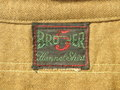 1930 年代 5 ブラザース メタルボタン ウールシャツ