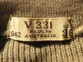 1940 年代 オーストラリア ARMY ウールセーター( DEAD STOCK )