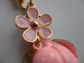 ピンクのお花の桃鈴